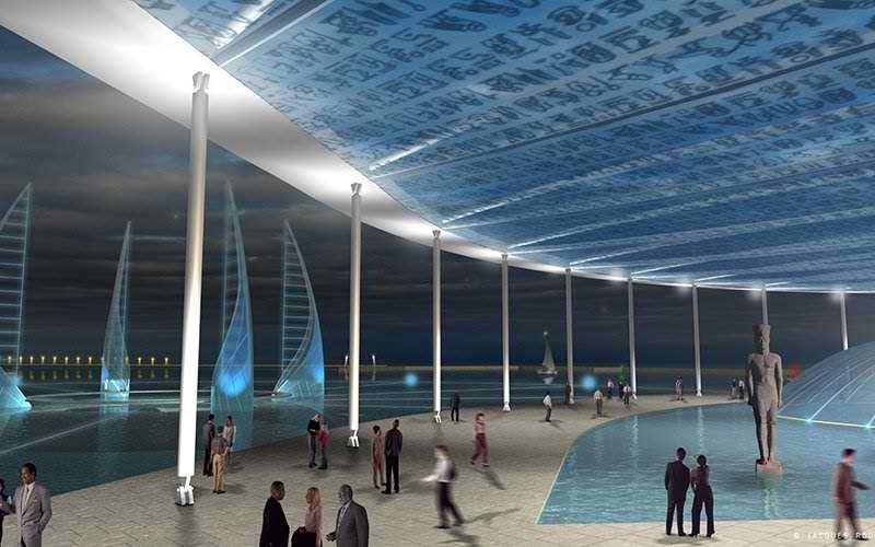 Egipat gradi podvodni muzej u Aleksandriji