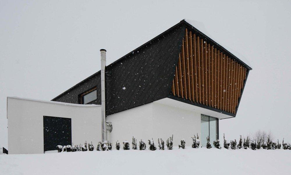 Kuća u Sloveniji koja razbija predrasude o prefabrikaciji