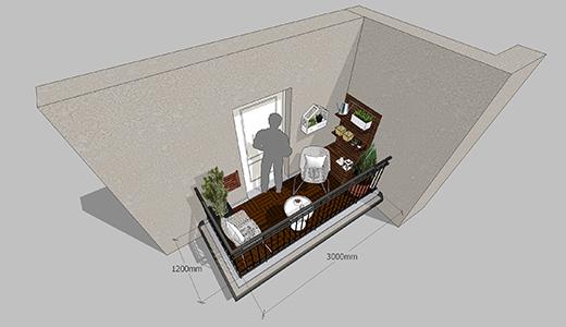 sredjivanje balkona 2