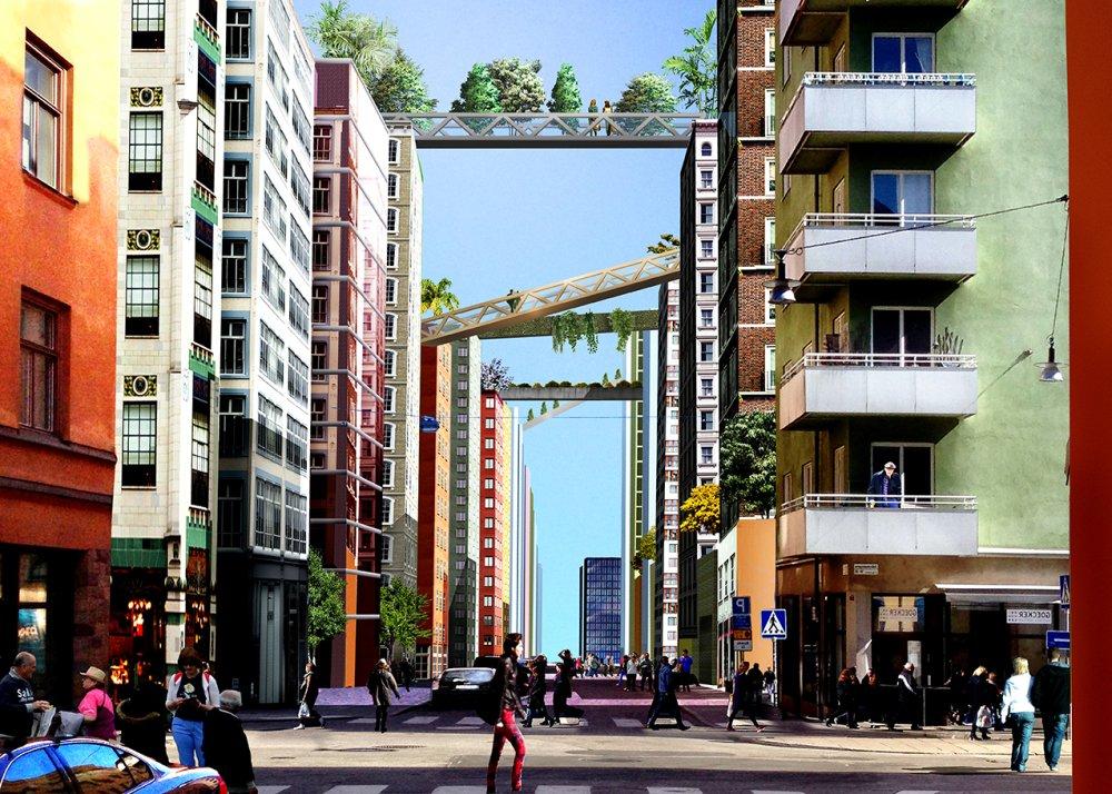 Zelene zgrade u Stokholmu biće povezane pasarelama