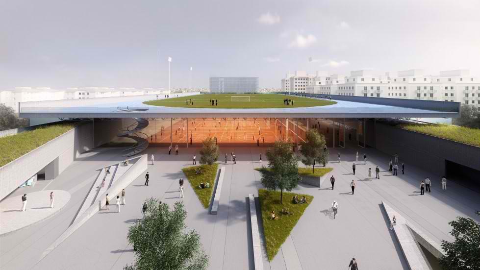 Ova zgrada u Brazilu ima na krovu pravi fudbalski teren