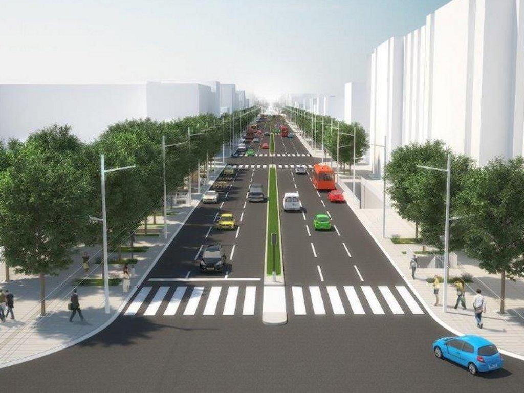 Kako će izgledati rekonstruisana ulica kneza Miloša
