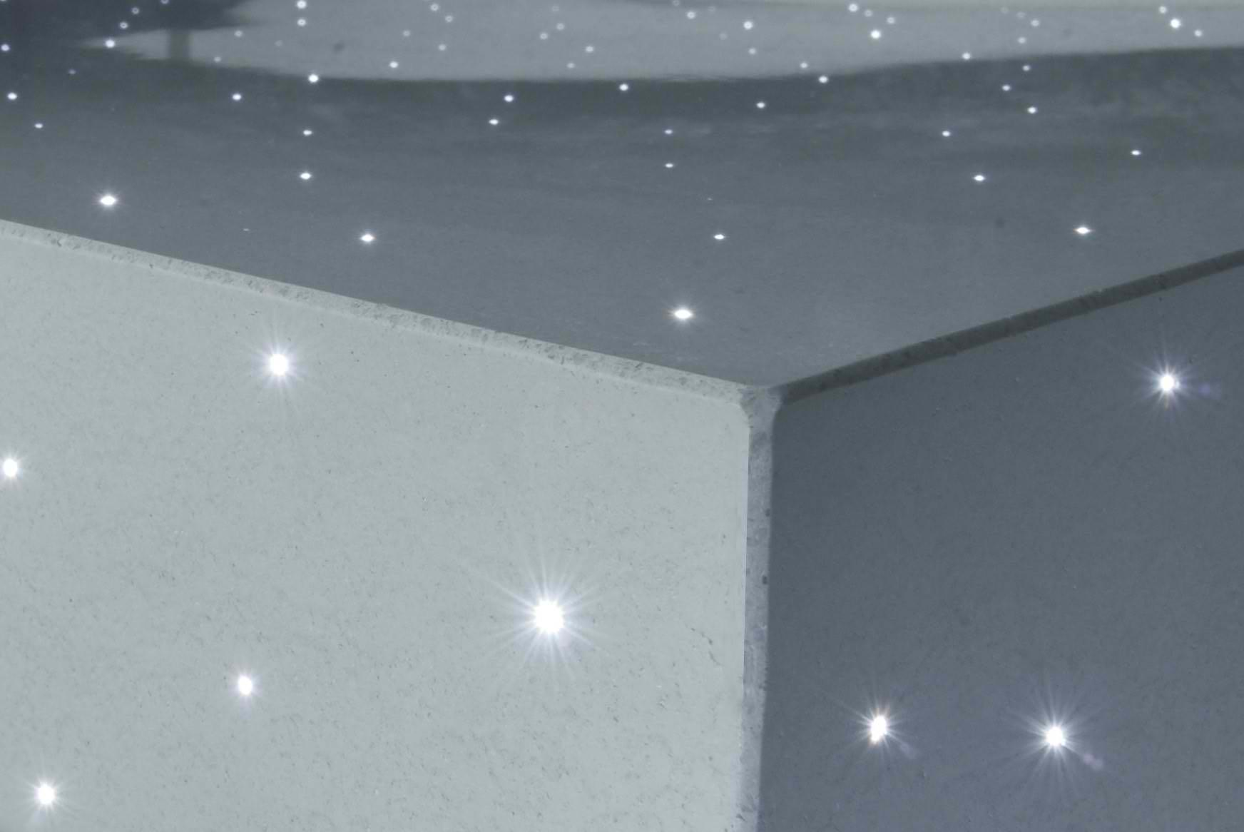 Svetleći beton armiran optičkim vlaknima