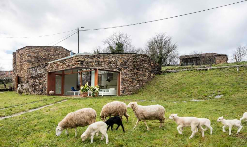 Stara vinarija od kamena pretvorena u savremen dom