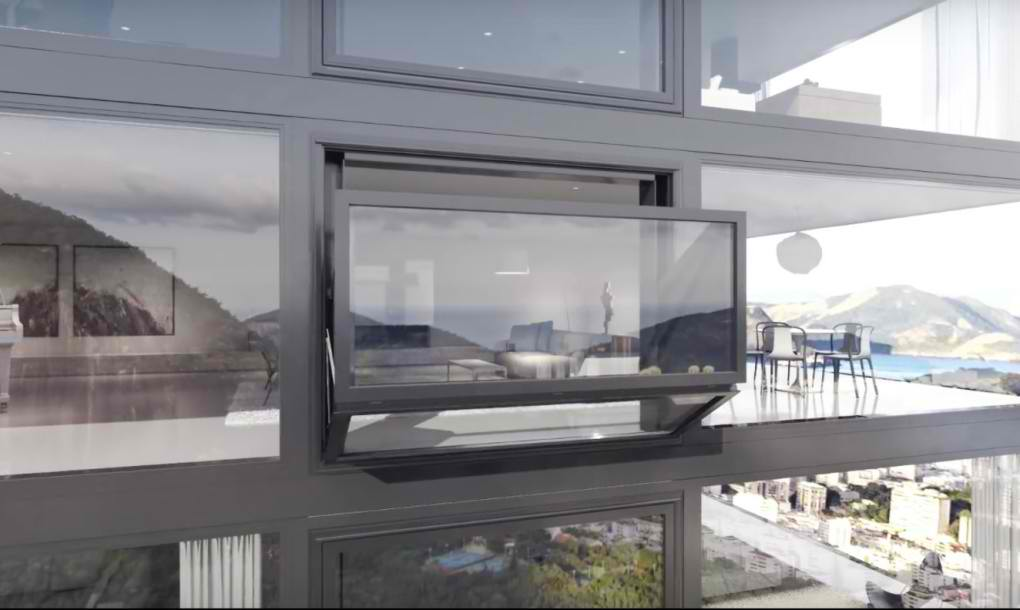 Prozor koji se transformiše u terasu za manje od jedne minute