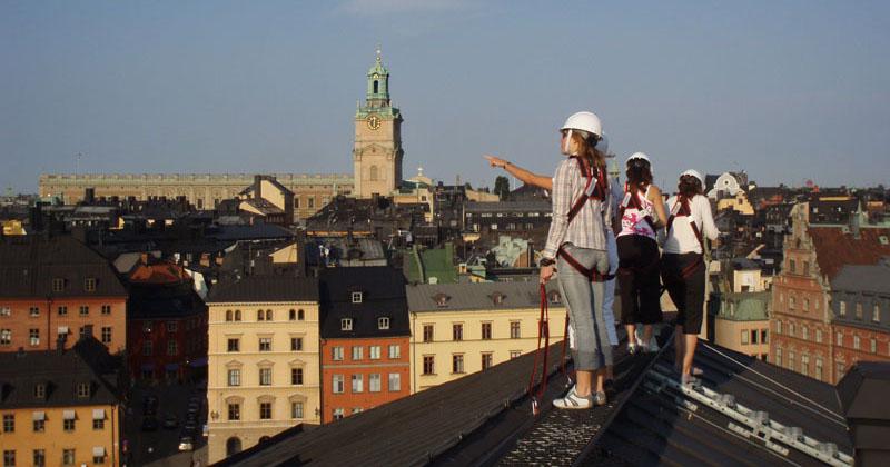 Upoznajte Stokholm šetajući po krovovima njegovih zgrada