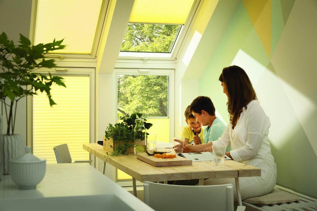 Sačuvajte toplotu doma VELUX Standard Plus krovnim prozorima