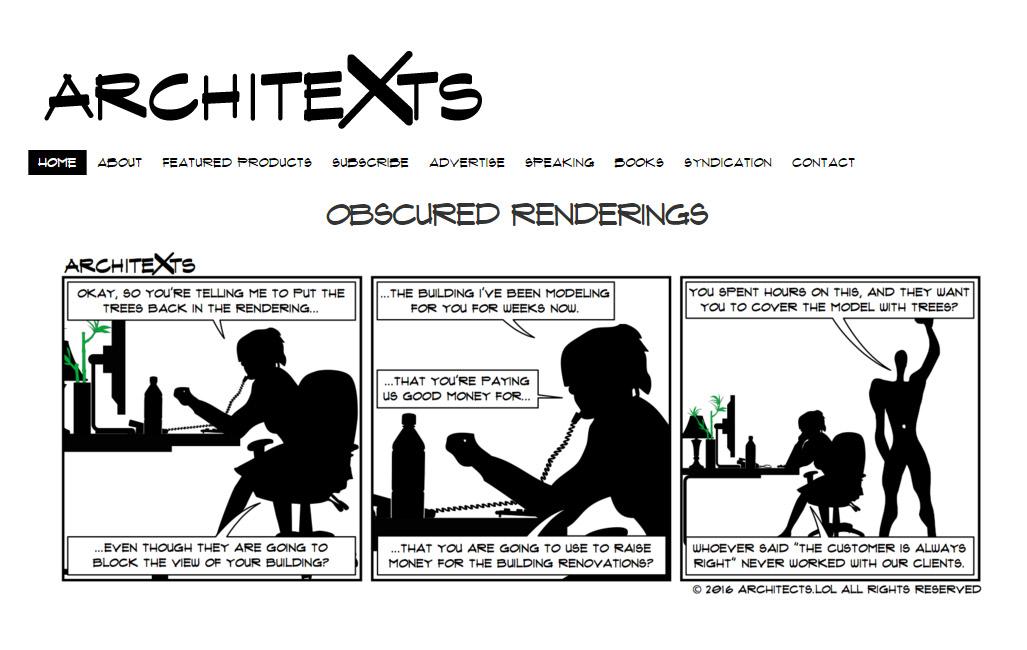 Stripovi koji će arhitektama izmamiti osmehe na lica