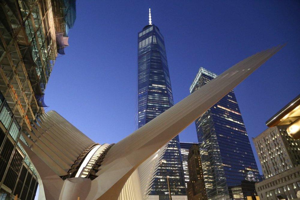 Ubrzani snimak izgradnje Kalatravinog Okulusa u Njujorku