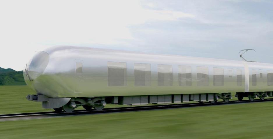Japanci prave novu generaciju vozova koji će se utapati u okolinu