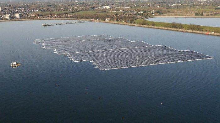 Solarna elektrana koja pluta po reci i pravi struju