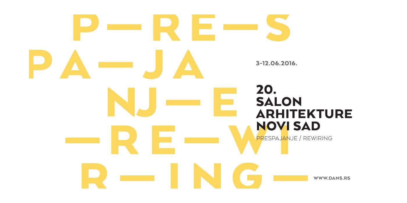 Poziv za učešće na 20. Salonu arhitekture u Novom Sadu