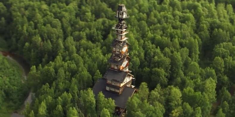 Umeće nadogradnje: Brvnara na Aljasci visoka 55 metara