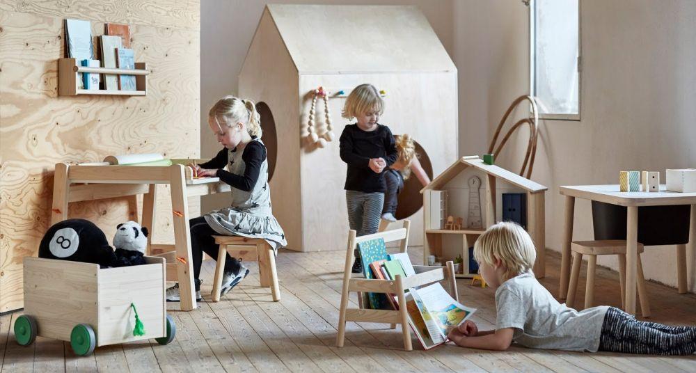 Ikeina nova linija dečijeg nameštaja od prirodnog drveta