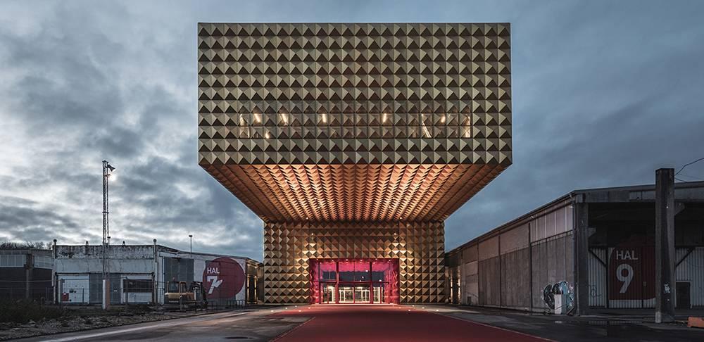 Otvoren muzej roka sa konzolom dugom 20 metara