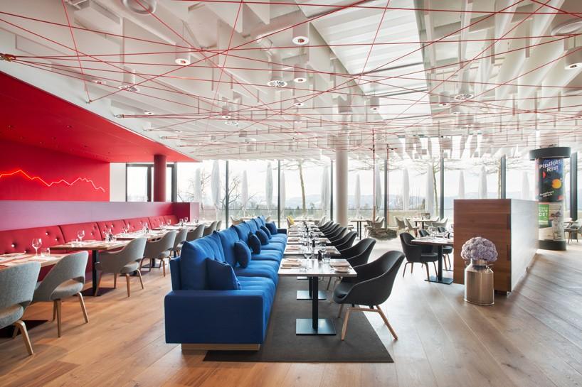 Inspiracija za dizajn restorana pronađena u pejzažima Švajcarske