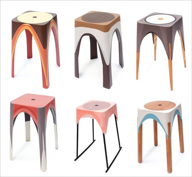 Stolice od sinteticke smole 01