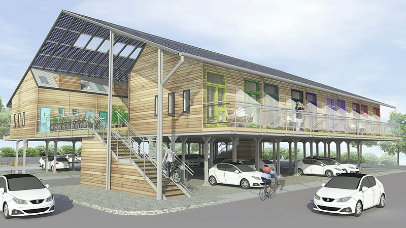 Hoćemo li graditi zgrade iznad postojećih gradskih parkinga?