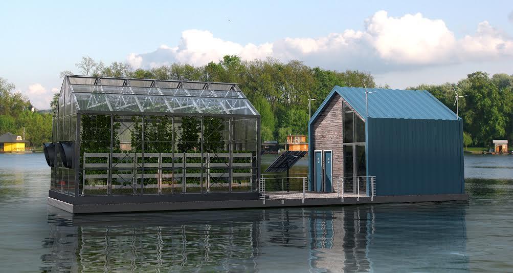 Eko barža na Dunavu koja sama pravi energiju za svoje potrebe