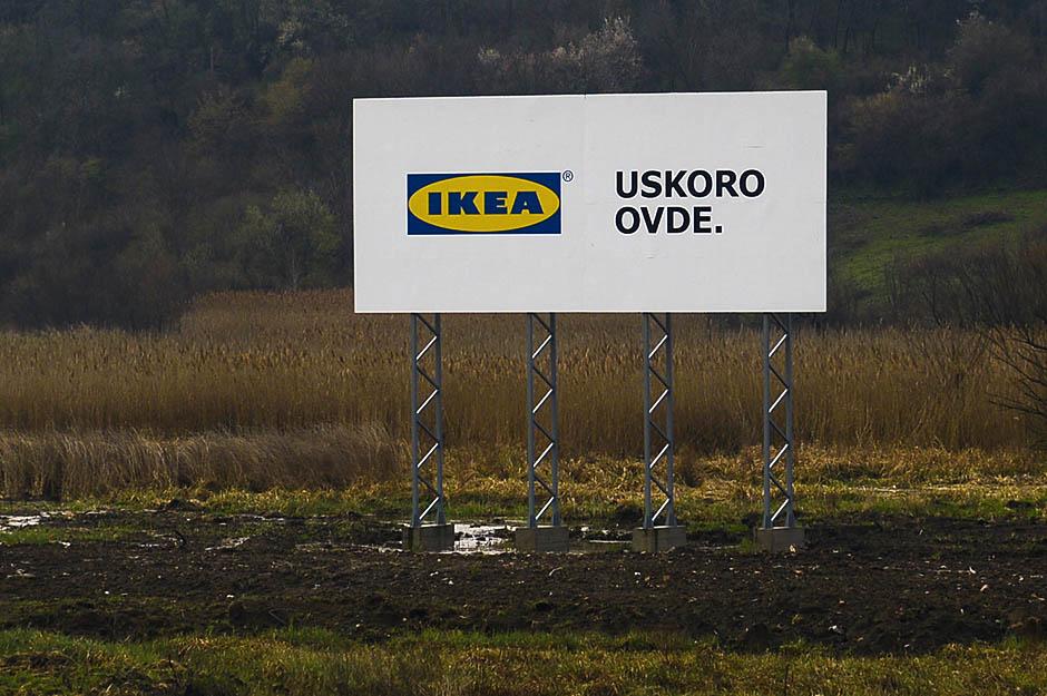 Položen kamen temeljac za prvu Ikeu u Srbiji