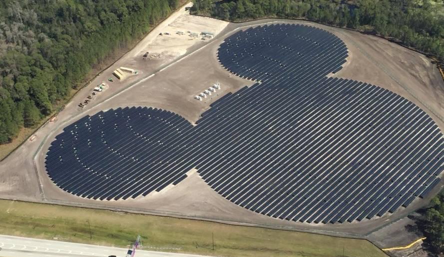 Solarna elektrana u obliku Miki Mausa napaja Diznilend na Floridi