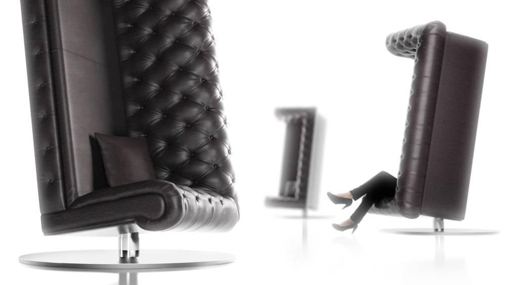Hit u Milanu: Fotelja koja je zapravo sofa postavljena vertikalno