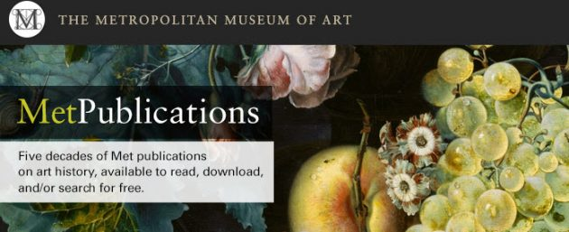 Met publications 01
