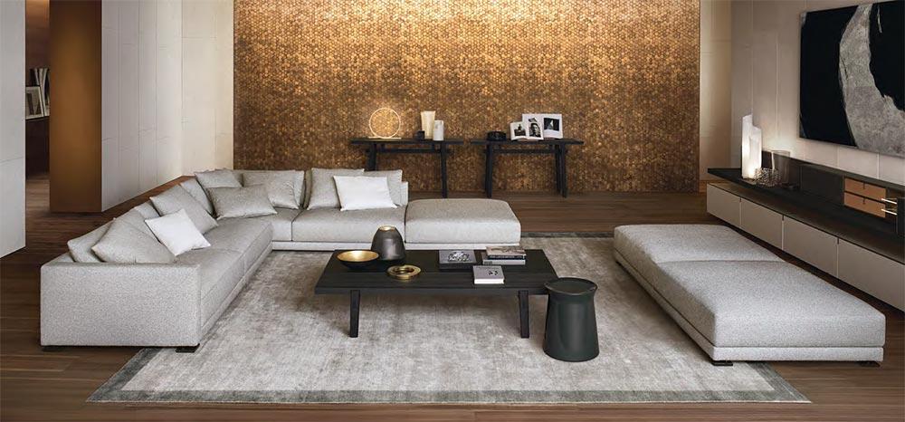 Luksuzni nameštaj za dnevnu sobu u italijanskom pakovanju