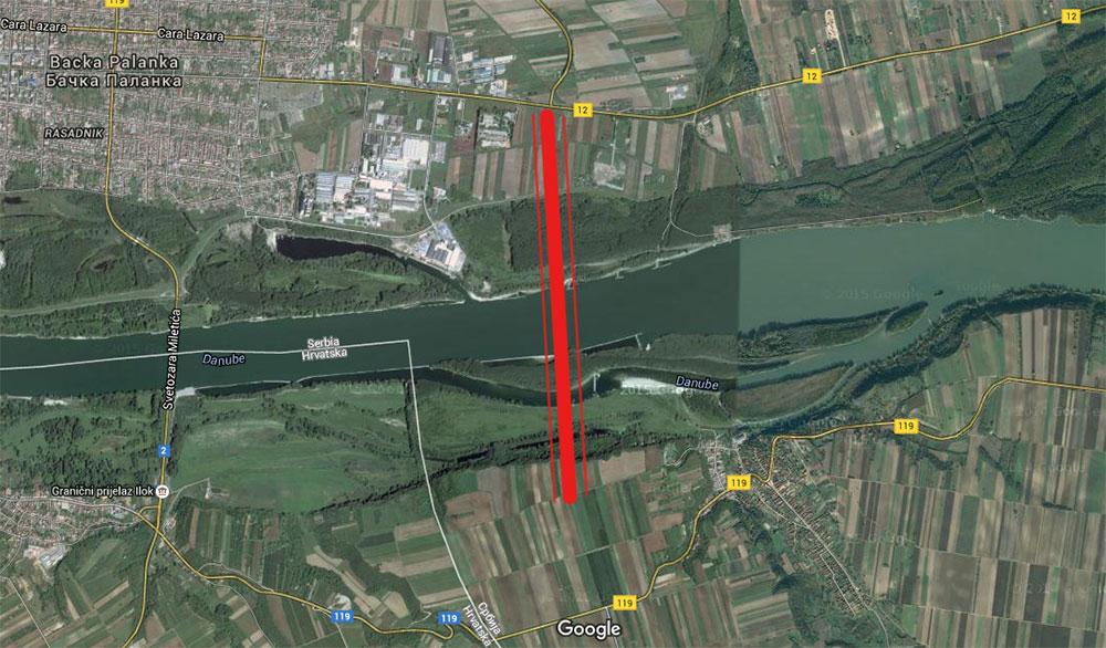 Duško Bobera projektovao novi most preko Dunava dugačak skoro dva kilometra