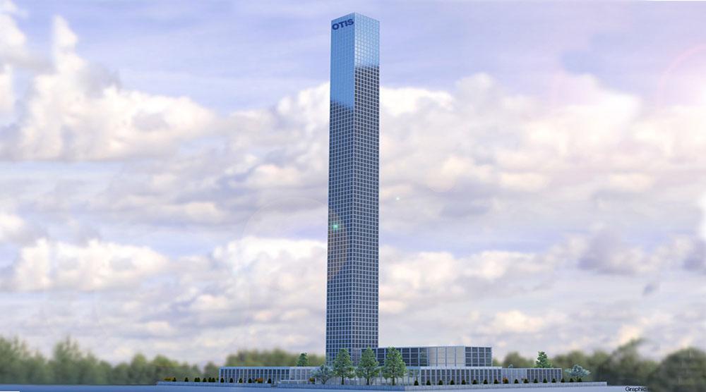 Otis podiže najveći neboder na svetu za testiranje liftova