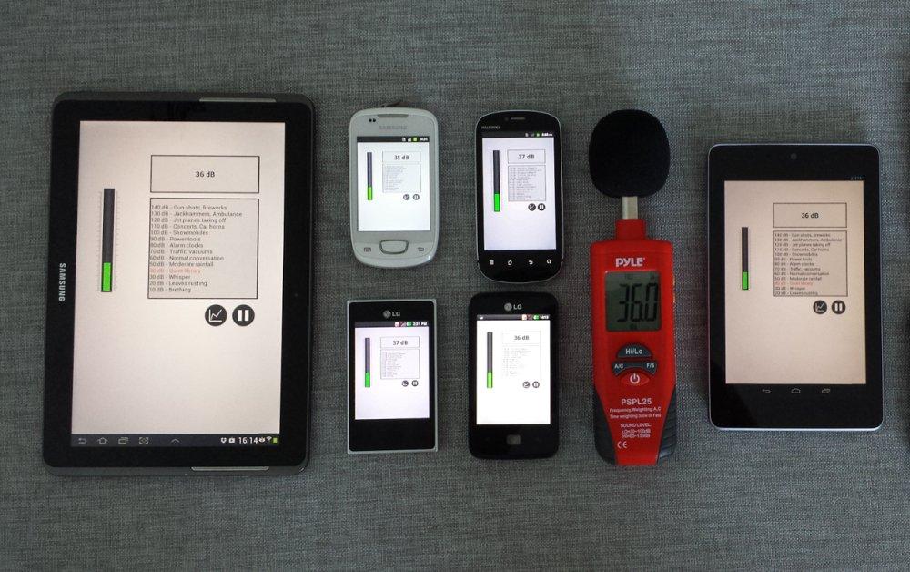 Mobilna aplikacija za merenje buke u stanu