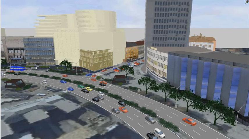 Kako će teći saobraćaj nakon izgradnje solitera u centru Novog Sada