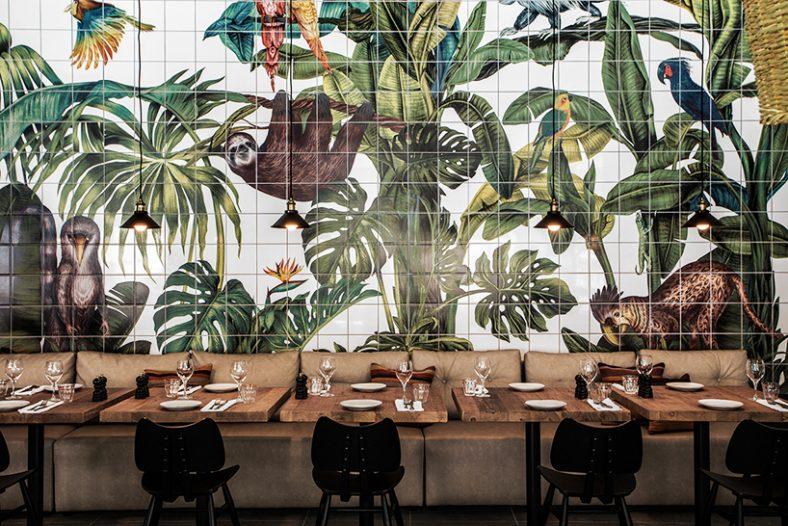 Pločice s motivom džungle krase novi hotel u Grčkoj