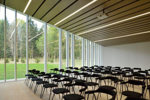 Arhitektura Krusec NZS Brdo SLO 2016