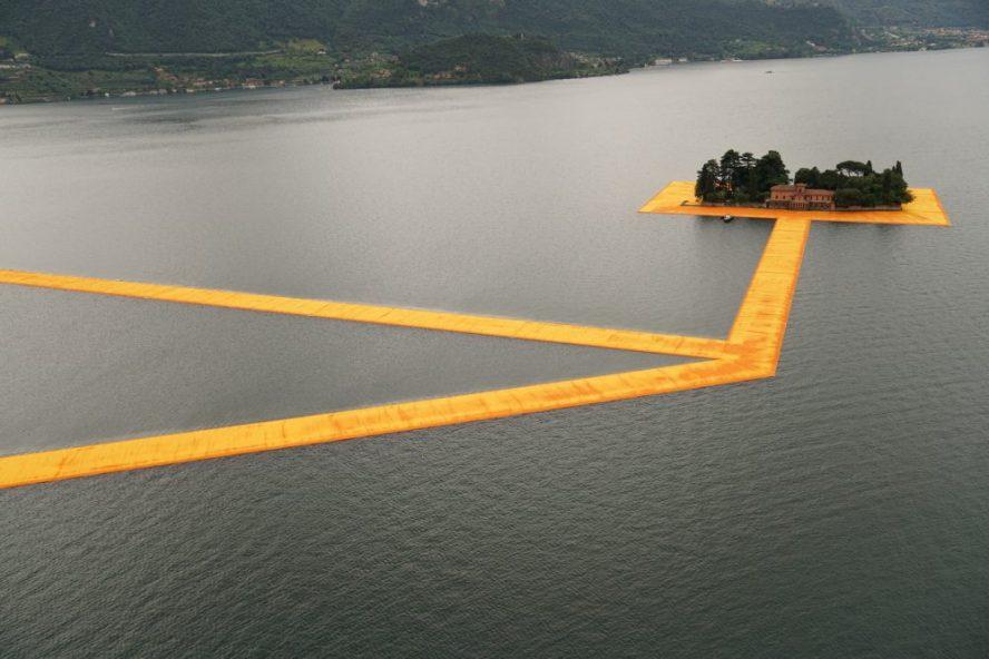 Plutajuće šetalište dugačko tri kilometra za hodanje po jezeru