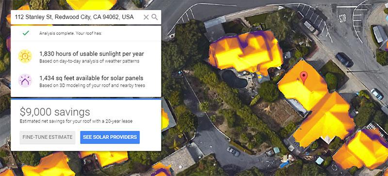 Ugraditi solarne panele ili ne? Google vam može uraditi proračun efikasnosti