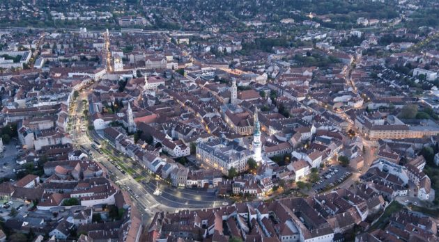 Sopron Castle Distric Revitalization