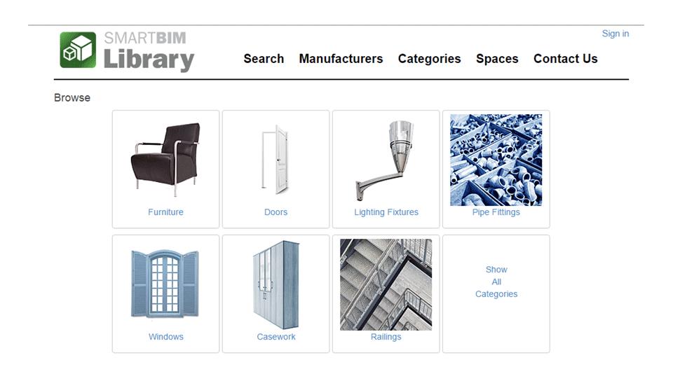 SmartBim: Biblioteka besplatnih modela za Revit