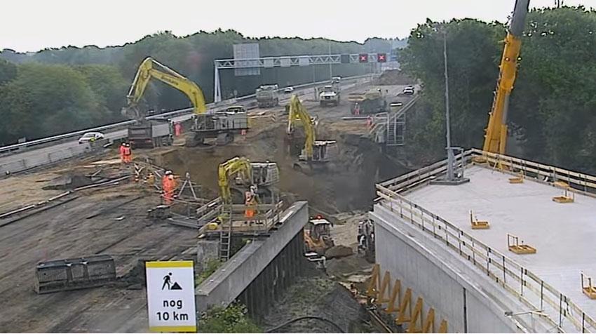 Pogledajte ubrzani snimak izgradnje tunela od 70m za samo jedan vikend