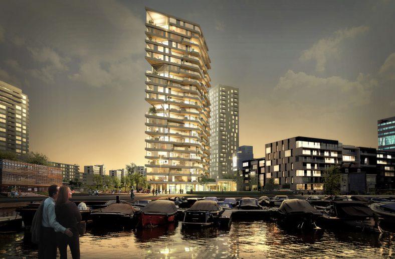 Počinje gradnja najviše drvene zgrade u Holandiji