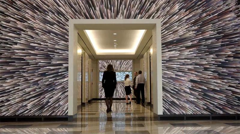 Murali na ovim zidovima aktiviraju se zajedno s vašim pokretima