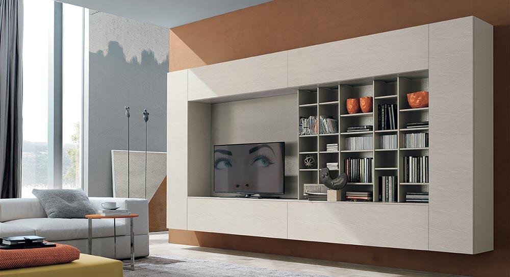 Tv police za svaku veli inu dnevne sobe for Immagini librerie d arredamento