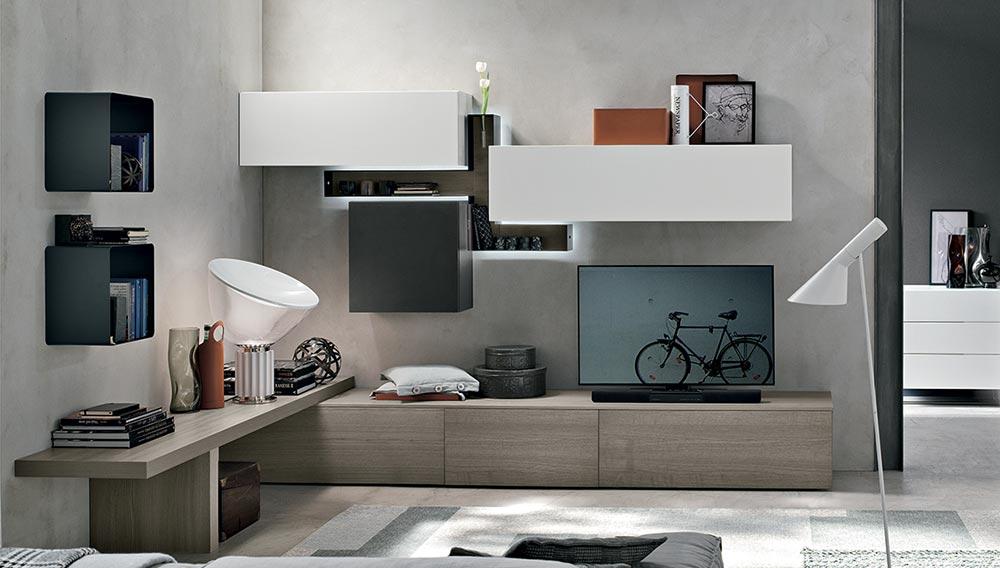 Tv police za svaku veli inu dnevne sobe for Mobili italiani design