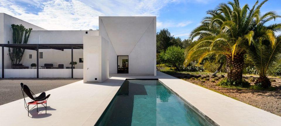 Moderna vila na Ibici izgrađena na starim temeljima