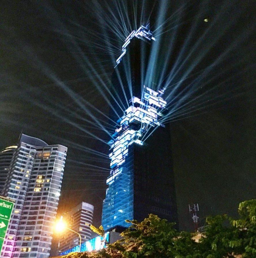 Spektakularno otvaranje najviše zgrade na Tajlandu