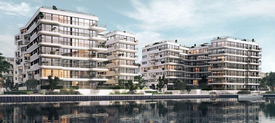 Fasade novog berlinskog bloka oponašaju tok kretanja reke
