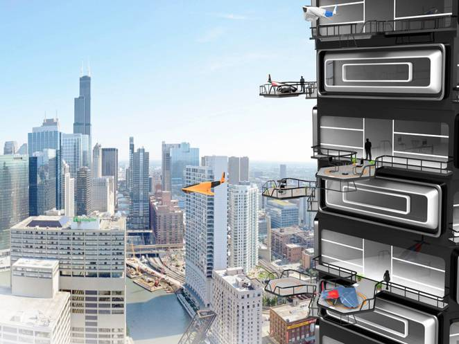 U stanove ćemo uskoro ulaziti dronovima preko balkona