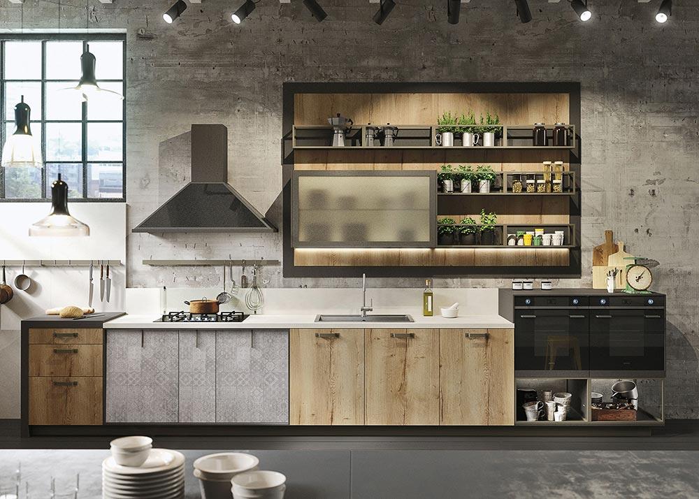 Kako treba da izgleda kuhinja u industrijskom stilu