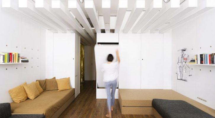 mali stan  Gradnja