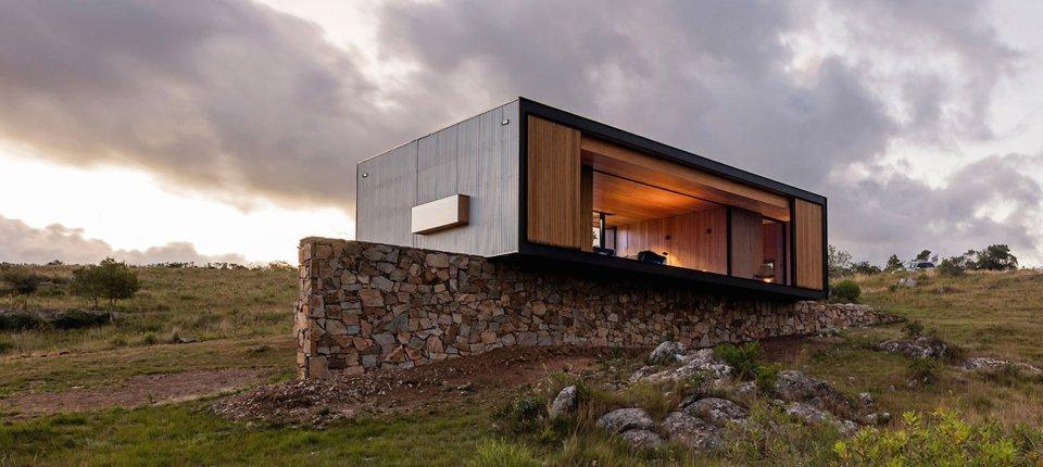 Ova prefabrikovana kuća stiže kamionom na vašu adresu
